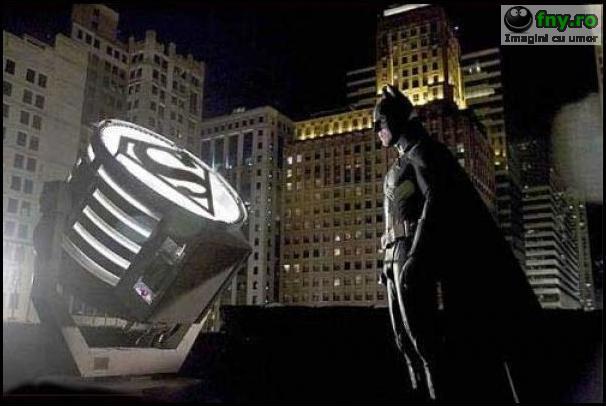 Superman vs Batman imagini haioase