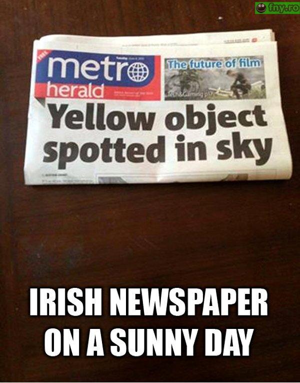Obiectul galben din cer imagini haioase
