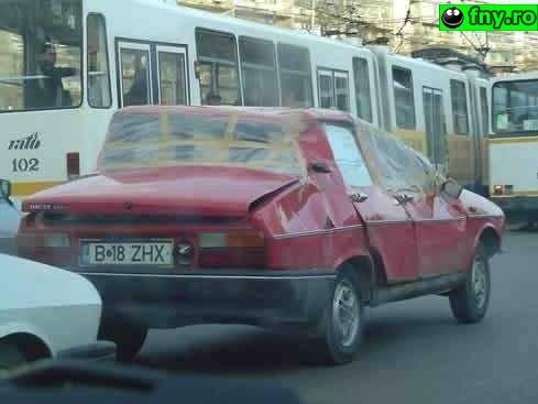 Dacia Praf imagini haioase
