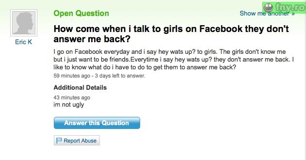 Discutii cu fetele imagini haioase