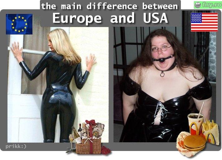 Europa vs SUA imagini haioase