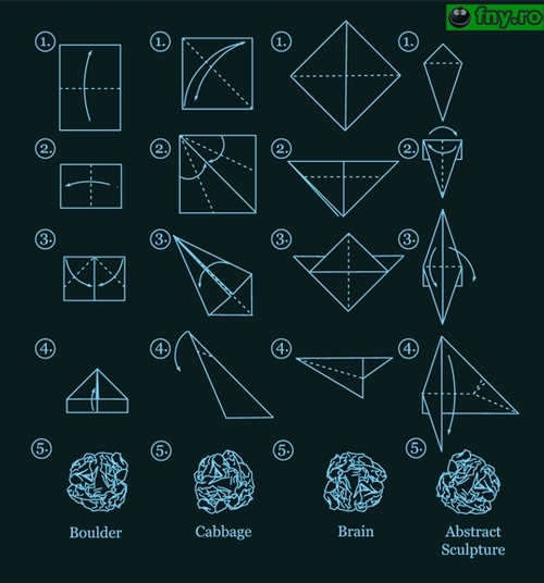 Lectia de origami imagini haioase