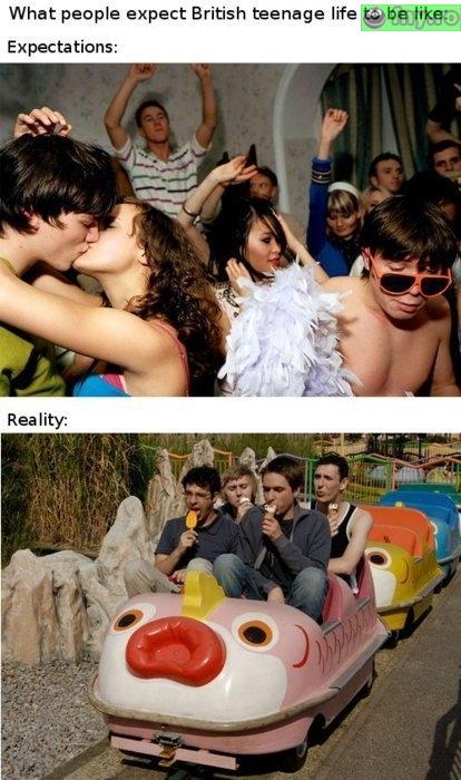 Adolescentii britanici imagini haioase