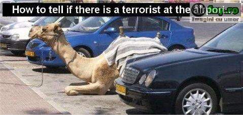 Teroristi.... imagini haioase