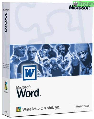 MS Word varianta pentru negri imagini haioase