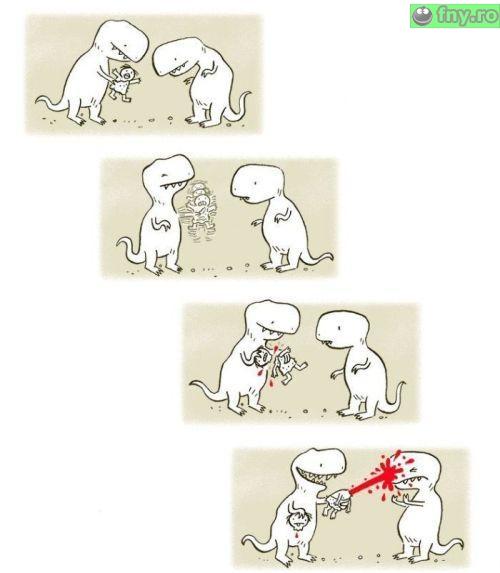 Joaca de dinozauri imagini haioase