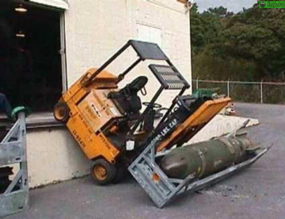 Transport de rachete nucleare imagini haioase