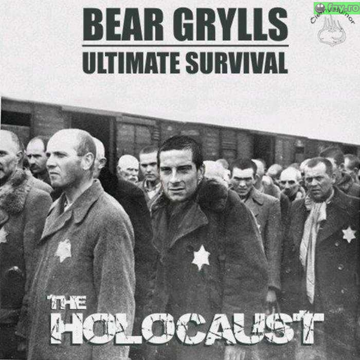 Proba suprema pentru Bear Grylls imagini haioase