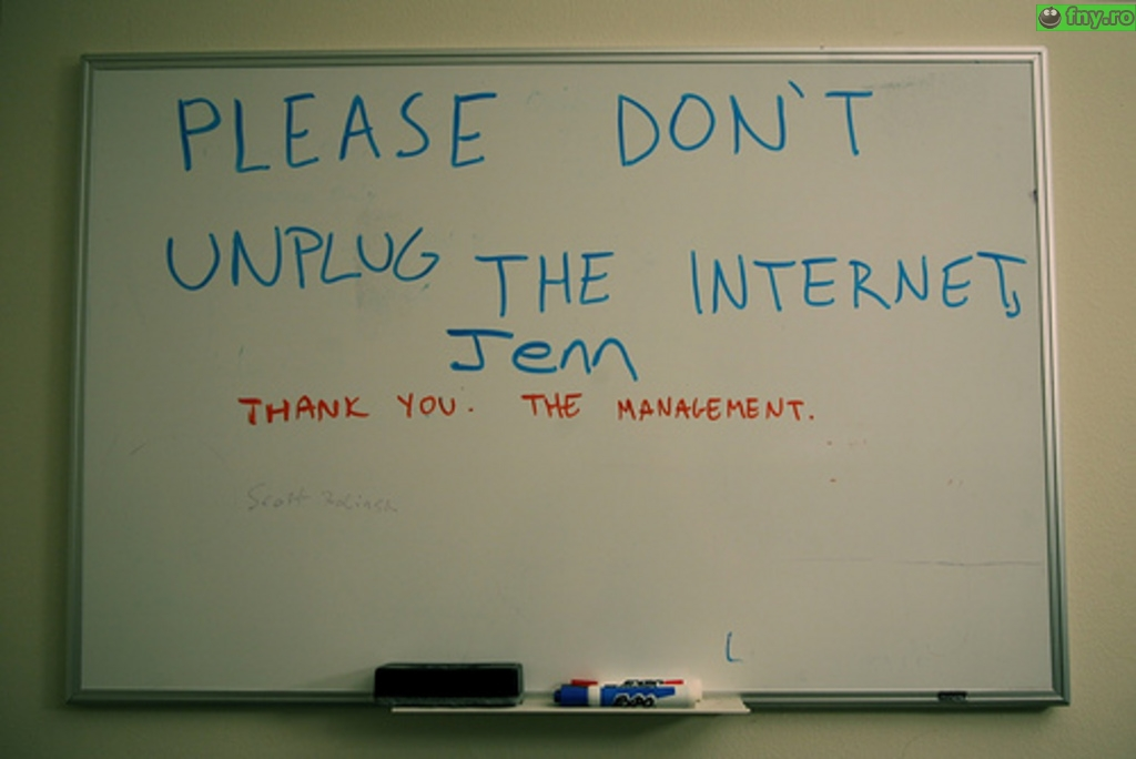 Nu scoate internetul din priza imagini haioase