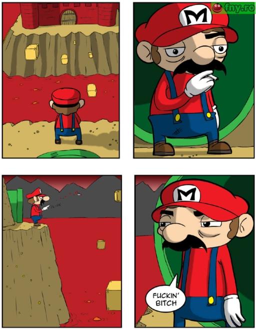 Super obositul Mario imagini haioase