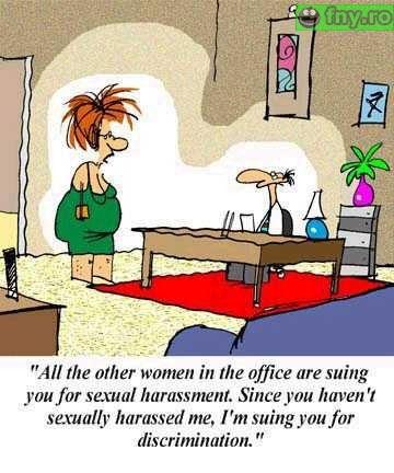 hartuire sexuala sau discriminare? imagini haioase