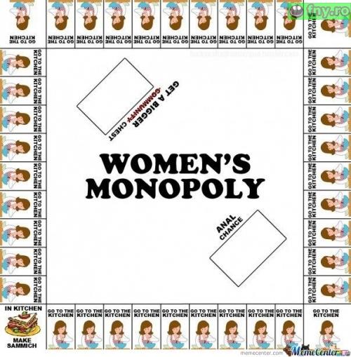Monopoly pentru femei imagini haioase