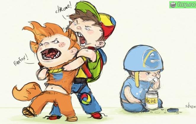 Razboiul browserelor imagini haioase
