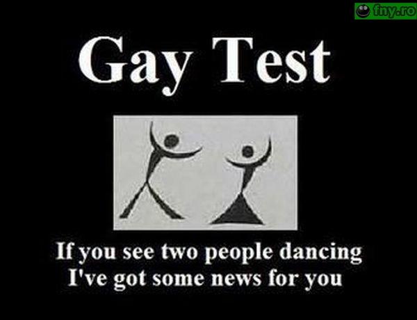 Gay test imagini haioase