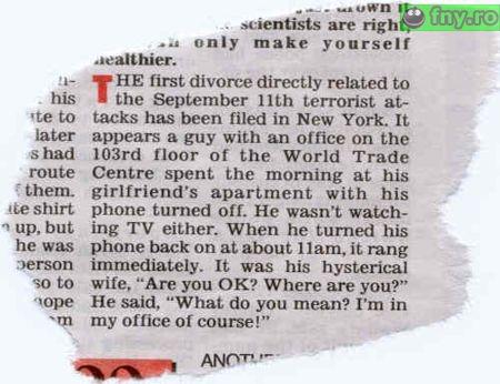 Divortul de la 11.09 imagini haioase
