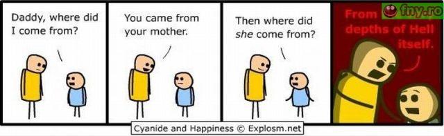 De unde vine mama imagini haioase