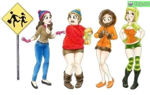 South Park, editia pentru fete imagini haioase