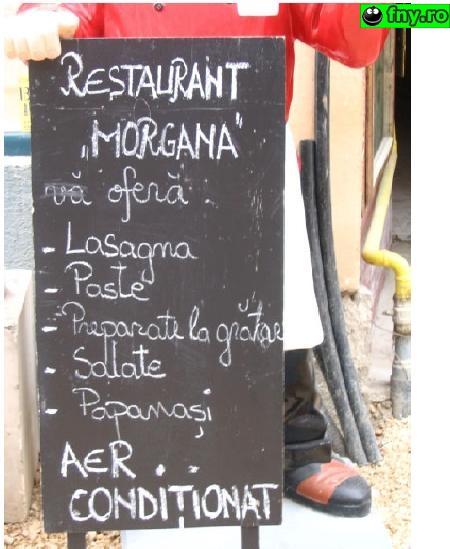 Restaurant Morgana imagini haioase