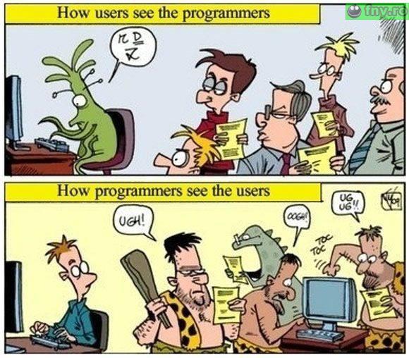 Programatori vs utilizatori imagini haioase