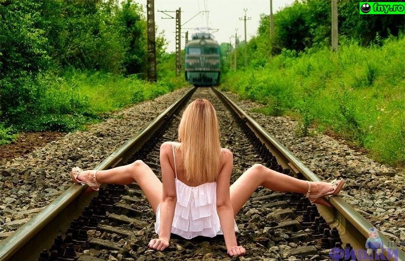 Astept trenul imagini haioase