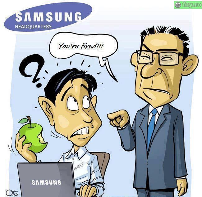 Motiv de concediere la Samsung imagini haioase
